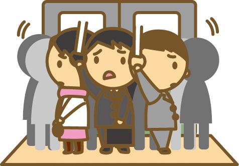 Kết quả hình ảnh cho 通勤時間