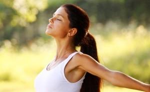 安産呼吸法