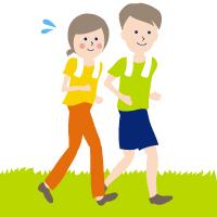 規則正しい食生活、適度な運動