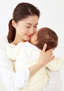 赤ちゃんと お母さん