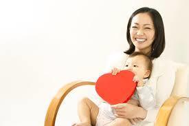 赤ちゃんとお母さん フリー7